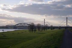 Rhein-Aussicht Stockbilder