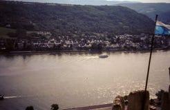 Rhein-Fluss, Deutschland Lizenzfreies Stockbild