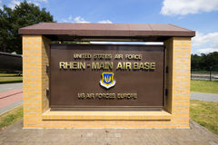 Rhein-Main Airbase Stock Image