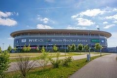 Rhein-Neckar-Arena, Sinsheim Stockbild