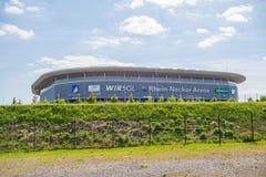Rhein-Neckar Arena, Sinsheim royalty free stock photo