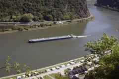 Rhein vom abouve lizenzfreie stockbilder