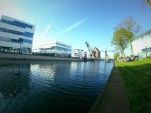 Rhein-Waal universitet Kleve, Tyskland Royaltyfria Bilder