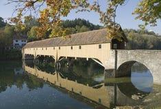 Rheinau Brücke Stockfotografie