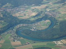 Rheinau monaster (ZH) Fotografia Royalty Free