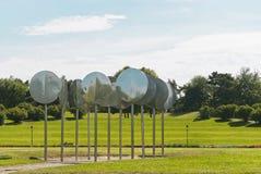 Rheinaue公园在波恩 免版税库存照片