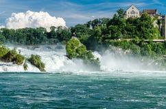 Rheinfall。 图库摄影