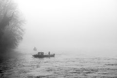 Rheinfall在瑞士 库存图片