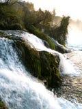 Rheinfall急流 库存图片