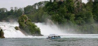 Rheinfall,瑞士 免版税图库摄影