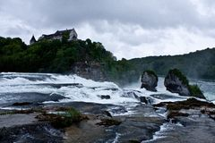 Rheinfall Royalty Free Stock Photo