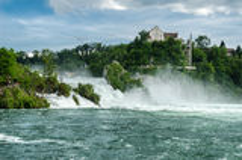 Rheinfall. Foto de Stock