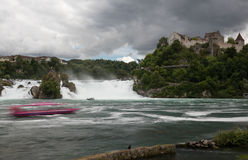 Rheinfall Photographie stock