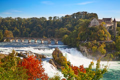 Rheinfall Royalty Free Stock Photography