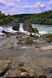 Rheinfall die Schweiz. Lizenzfreies Stockfoto