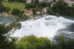 Rheinfall, Schaffhausen, die Schweiz Stockfotografie