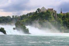 Rheinfall, Schaffhausen, Suíça Fotos de Stock Royalty Free