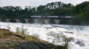 Rheinfall, Svizzera Immagini Stock