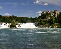 Rheinfall Switzerland. Stock Image