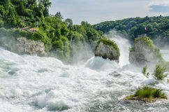 Rheinfall. Royalty Free Stock Photos