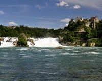 Rheinfall Zwitserland. Stock Afbeelding