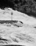 Rheinfall Zwitserland. Stock Foto