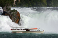 Rheinfall, Zwitserland Stock Afbeeldingen