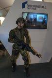 Rheinmetall防御立场  免版税库存图片