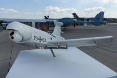 Rheinmetall KZO - un véhicule aérien téléguidé (UAV) Photographie stock