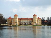 Rheinsberg castle, Rheinsberg, Germany 10.04.2016 Royalty Free Stock Image