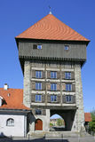 Rheintor Gate tower in Constance at Lake Constance Stock Photography