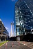 Rheinturm Düsseldorf Imágenes de archivo libres de regalías