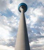 Rheinturm, Düsseldorf, Alemanha fotografia de stock