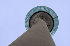 Rheinturm tower Stock Image