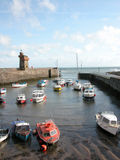 Rhenish Tower and harbour at Lynmouth Royalty Free Stock Photos