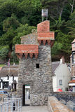 Rhenish Tower Lynmouth Harbour in Devon UK Stock Photography