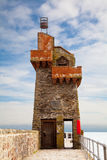 Rhenish Tower in Lynmouth Harbour Devon UK. The Rhenish Tower in Lynmouth Harbour Devon UK stock photos