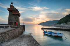 The Rhenish Tower at Lynmouth Royalty Free Stock Photo