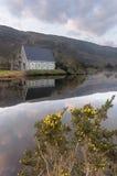 Rhetorik St. Finbarres, Gougane Barra, Westkorken, Irland Lizenzfreie Stockfotografie
