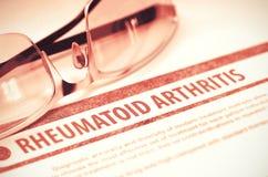 Rheumatoid Arthritis. Medicine. 3D Illustration. Royalty Free Stock Images
