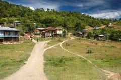 Rhi Village, Myanmar (Burma) Royalty Free Stock Photo