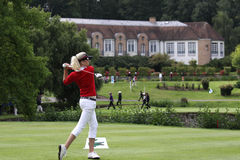 Rhian Wyn Thomas, Ladies French Open 2010 Stock Images
