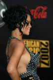Rhianna arriving at the 2007 American Music Awards. Nokia Center, Los Angeles, CA. 11-18-07 Royalty Free Stock Photo