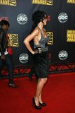 Rhianna arriving at the 2007 American Music Awards. Nokia Center, Los Angeles, CA. 11-18-07 Stock Photography