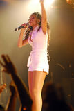 Rhianna performing live Royalty Free Stock Images