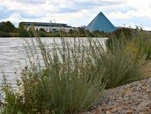Rhine†'Main†'Danube kanał blisko Nuremberg zdjęcie stock