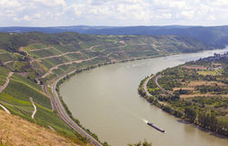 Rhine Royalty Free Stock Photo
