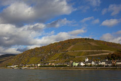 Rhine foto de stock royalty free