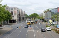 Rhine Allee Mainz Stock Photography