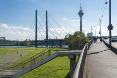 The Rhine bridge Royalty Free Stock Photos